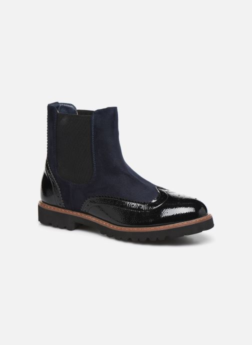 Ankle boots Vanessa Wu BT1829 Black detailed view/ Pair view