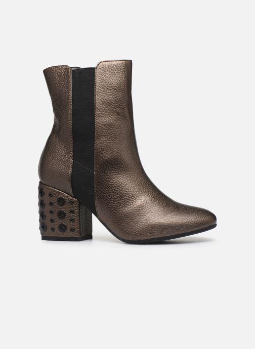 Bottines et boots Vanessa Wu BT1832 Or et bronze vue derrière