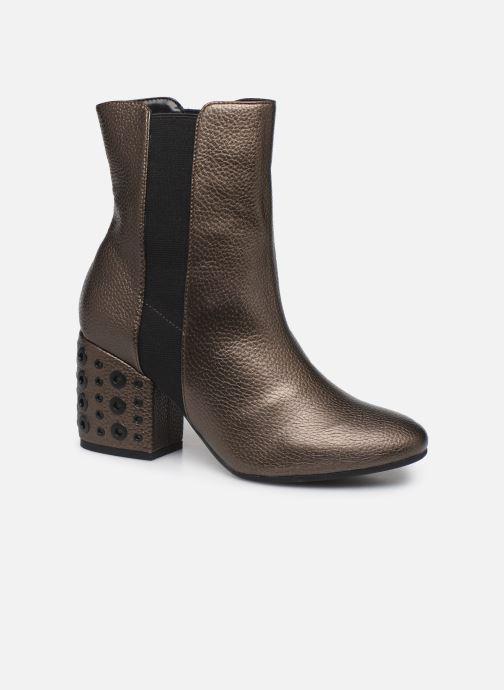 Boots en enkellaarsjes Vanessa Wu BT1832 Goud en brons detail