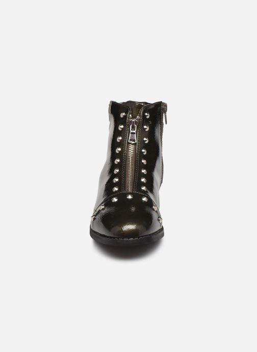 Bottines et boots Vanessa Wu BT1836 Vert vue portées chaussures