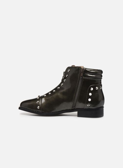 Ankle boots Vanessa Wu BT1836 Green front view