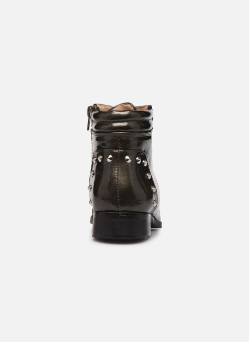 Ankle boots Vanessa Wu BT1836 Green view from the right