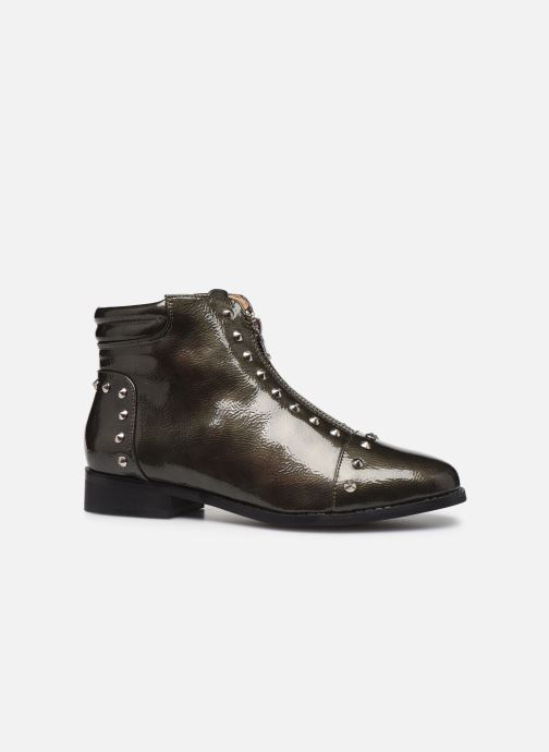 Ankle boots Vanessa Wu BT1836 Green back view