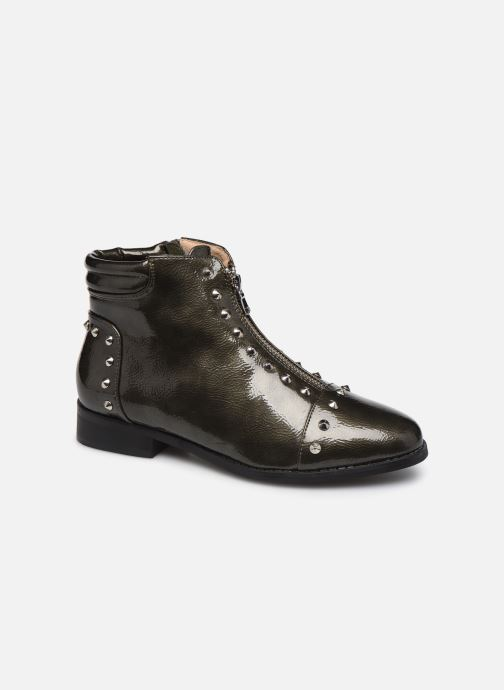 Ankle boots Vanessa Wu BT1836 Green detailed view/ Pair view