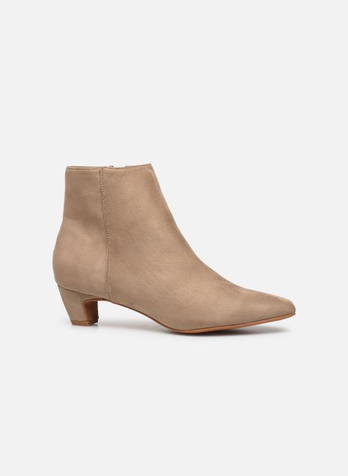 Ankle boots Vanessa Wu BT1883 Beige back view