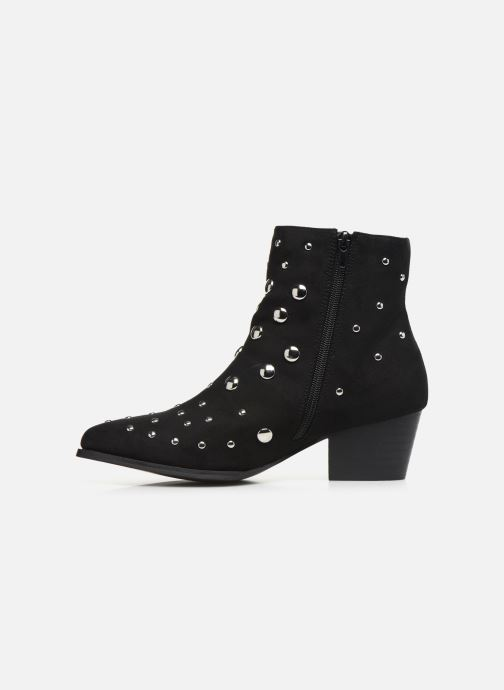 Ankle boots Vanessa Wu BT1886 Black front view