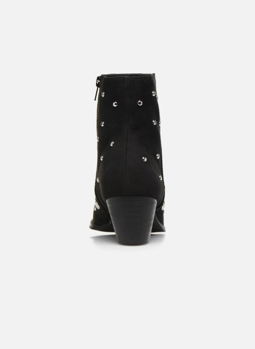 Ankle boots Vanessa Wu BT1886 Black view from the right