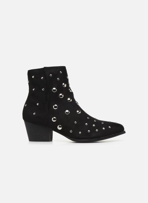 Ankle boots Vanessa Wu BT1886 Black back view