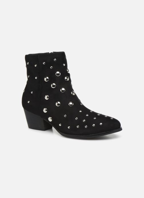 Ankle boots Vanessa Wu BT1886 Black detailed view/ Pair view