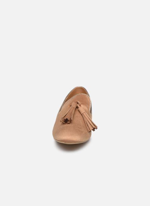 Mocassins Vanessa Wu MO1767 Beige vue portées chaussures