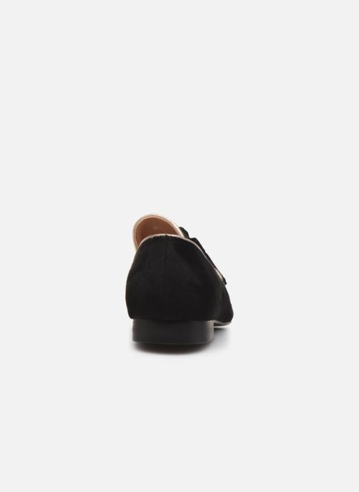 Loafers Vanessa Wu MO1767 Black view from the right