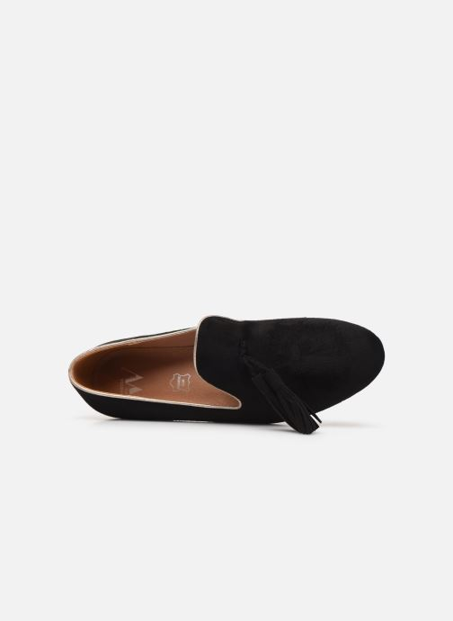 Loafers Vanessa Wu MO1767 Black view from the left