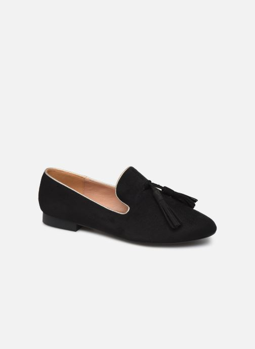 Loafers Vanessa Wu MO1767 Black detailed view/ Pair view