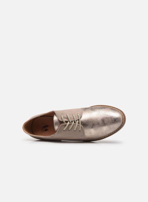 Zapatos con cordones Vanessa Wu RL1754 Gris vista lateral izquierda