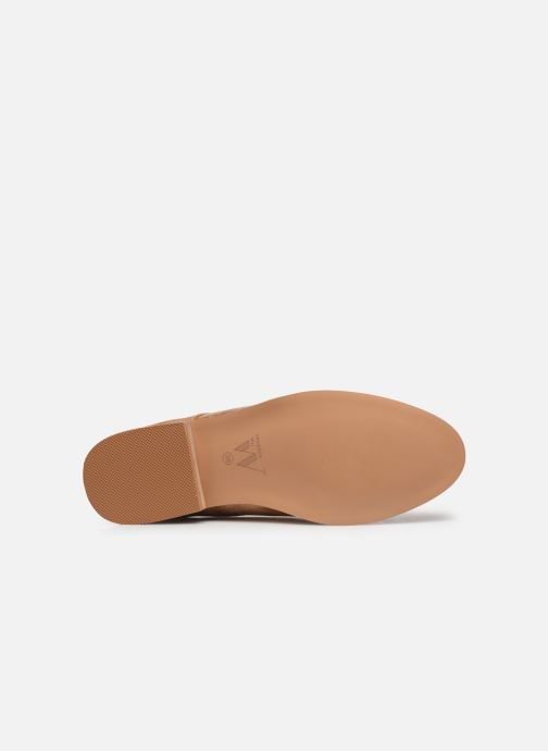 Chaussures à lacets Vanessa Wu RL1754 Beige vue haut