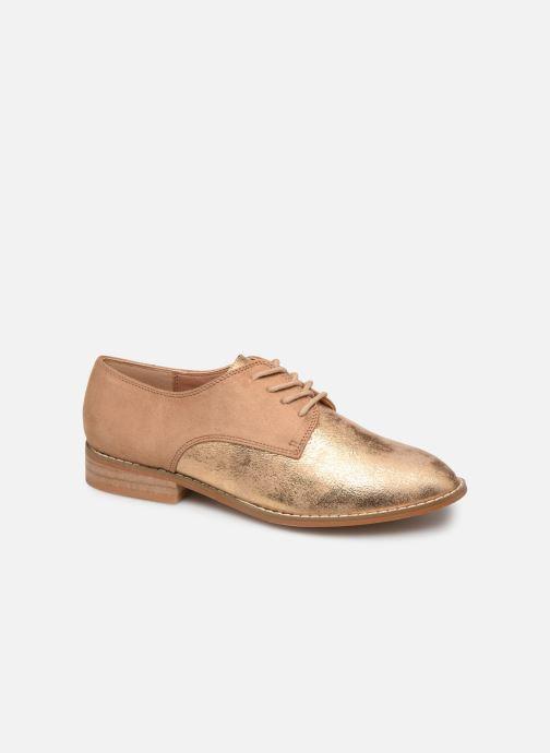 Zapatos con cordones Vanessa Wu RL1754 Beige vista de detalle / par