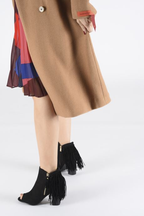 Ankle boots I Love Shoes KIPOME Black view from underneath / model view