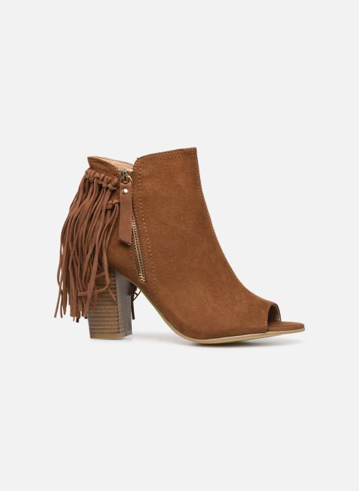 Ankle boots I Love Shoes KIPOME Brown back view