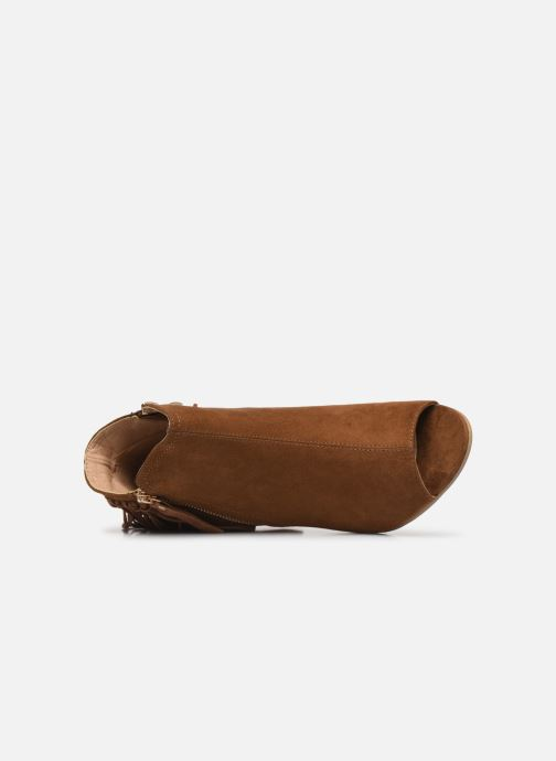 Stivaletti e tronchetti I Love Shoes KIPOME Marrone immagine sinistra