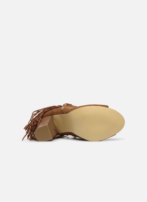 Stivaletti e tronchetti I Love Shoes KIPOME Marrone immagine dall'alto
