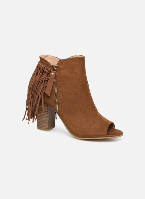 Ankle boots I Love Shoes KIPOME Brown detailed view/ Pair view