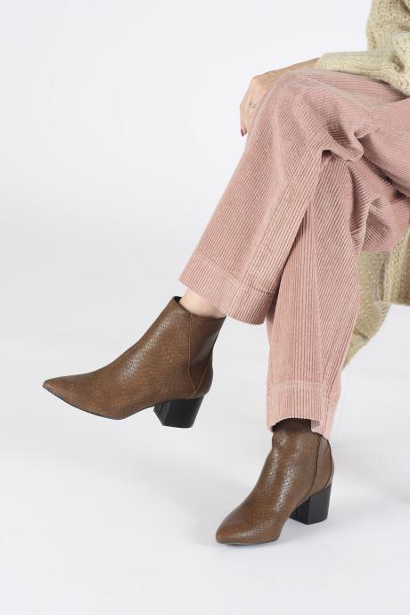 Botines  I Love Shoes KIMACHE Marrón vista de abajo