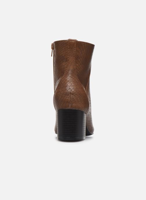 Ankle boots I Love Shoes KIMACHE Brown view from the right