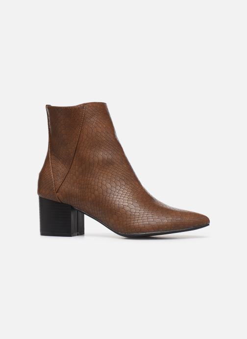 Botines  I Love Shoes KIMACHE Marrón vistra trasera