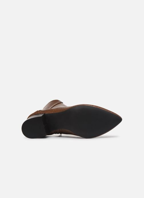 Ankle boots I Love Shoes KIMACHE Brown view from above