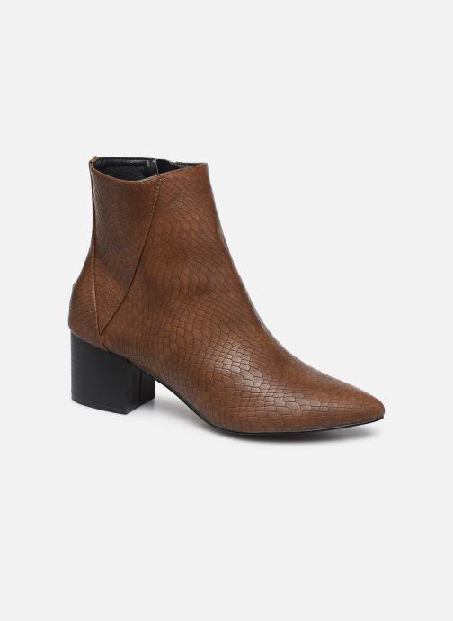 Ankle boots I Love Shoes KIMACHE Brown detailed view/ Pair view