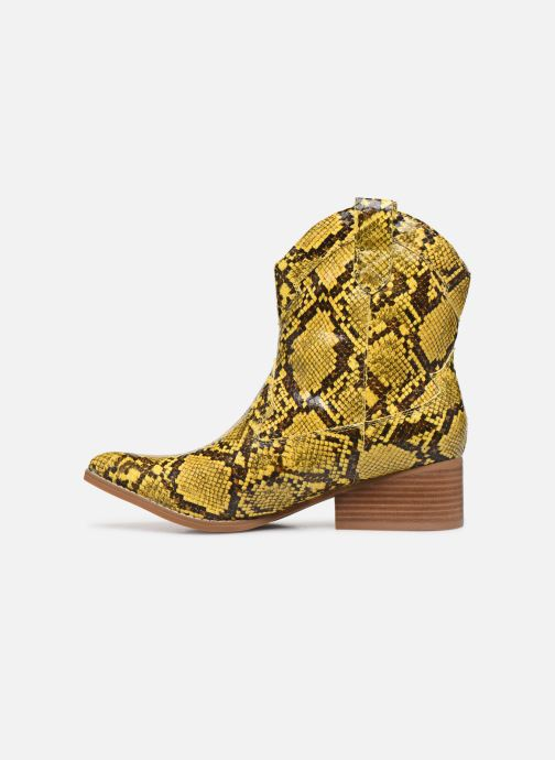 Ankle boots I Love Shoes KINOU Yellow front view