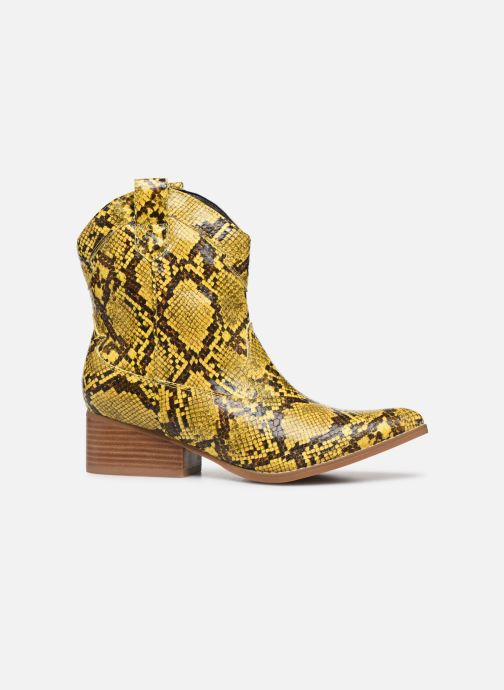 Ankle boots I Love Shoes KINOU Yellow back view