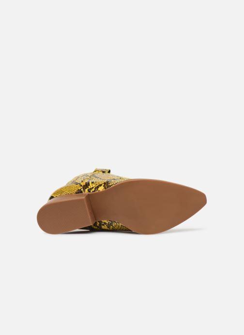 Bottines et boots I Love Shoes KINOU Jaune vue haut