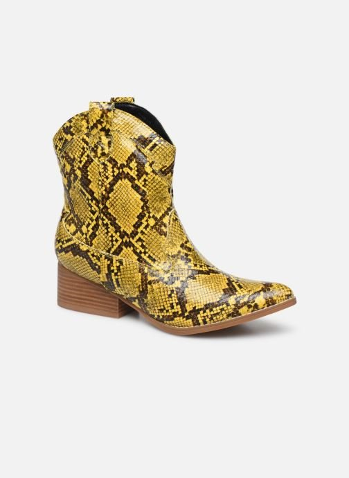 Ankle boots I Love Shoes KINOU Yellow detailed view/ Pair view