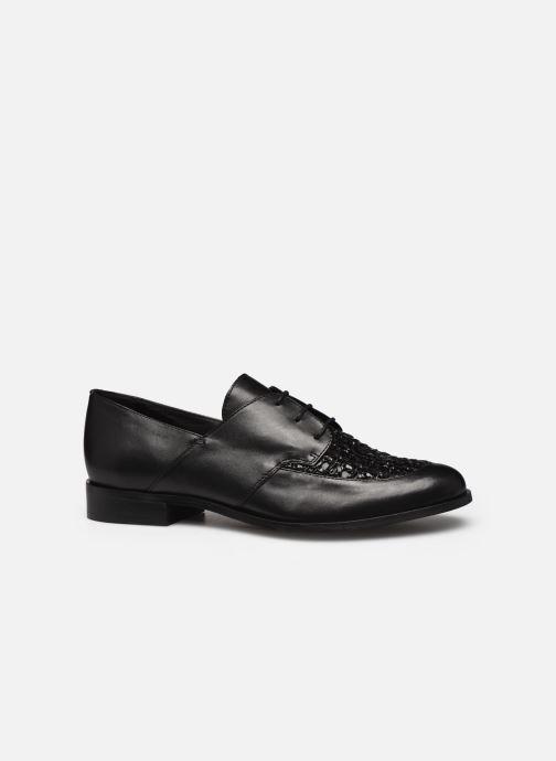 Zapatos con cordones COSMOPARIS ELENAGE Negro vistra trasera