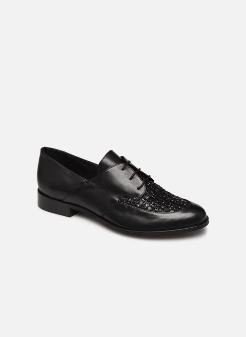 Zapatos con cordones COSMOPARIS ELENAGE Negro vista de detalle / par