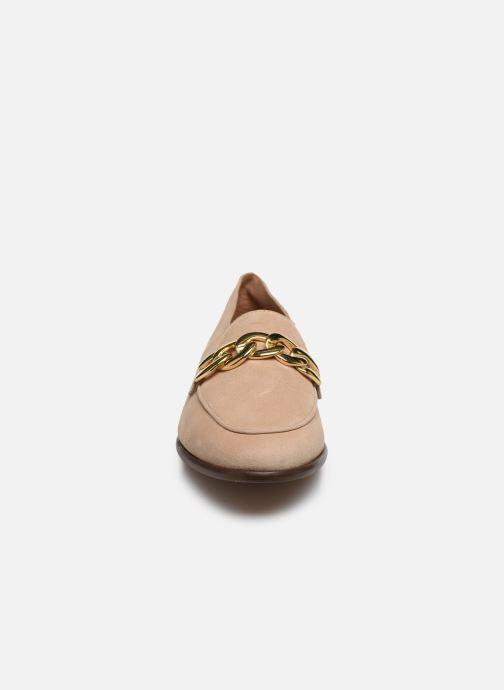 Mocassins COSMOPARIS VIROTI/VEL Beige vue portées chaussures