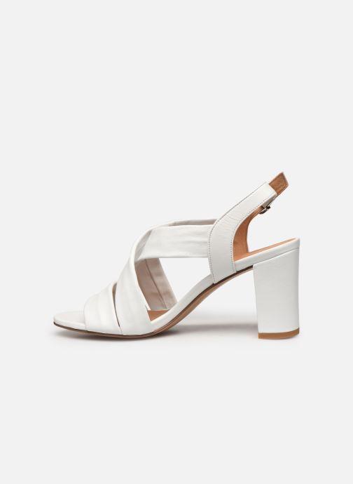 Sandali e scarpe aperte COSMOPARIS VUKO Bianco immagine frontale