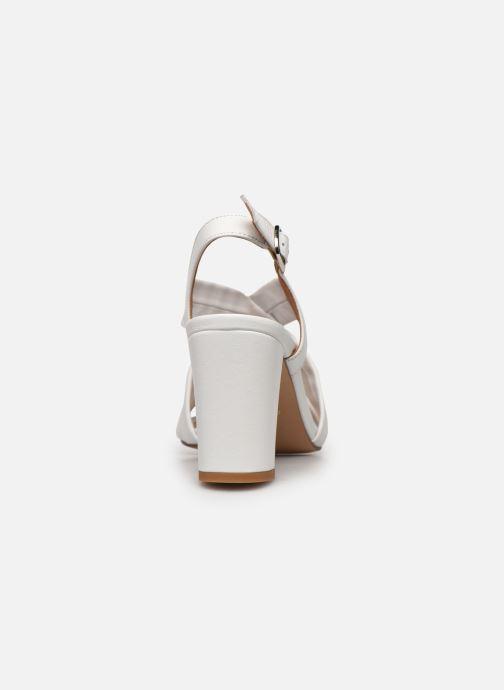 Sandali e scarpe aperte COSMOPARIS VUKO Bianco immagine destra