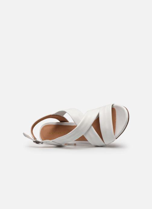Sandali e scarpe aperte COSMOPARIS VUKO Bianco immagine sinistra