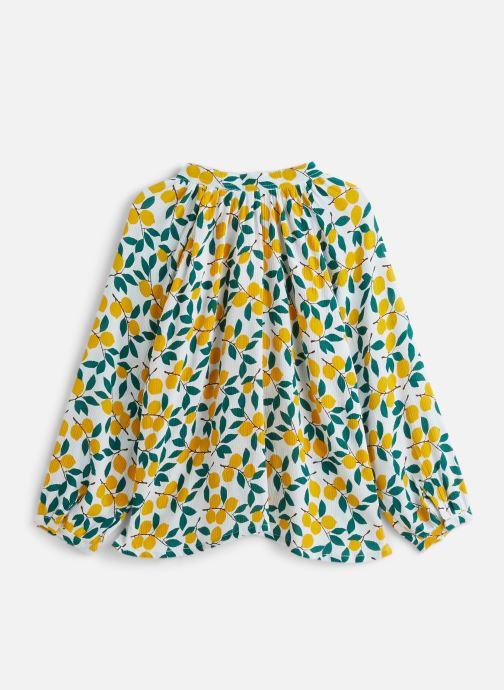 Vêtements Bakker Made With Love Top Anis Plumetis Jaune vue bas / vue portée sac