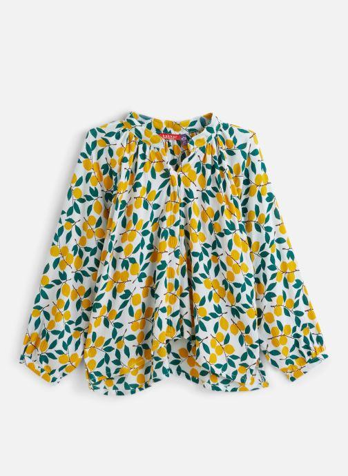 Vêtements Bakker Made With Love Top Anis Plumetis Jaune vue détail/paire