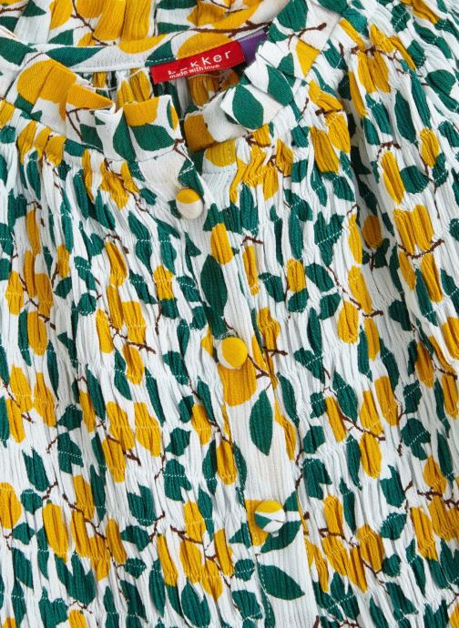 Vêtements Bakker Made With Love Dress Ira Jaune vue portées chaussures