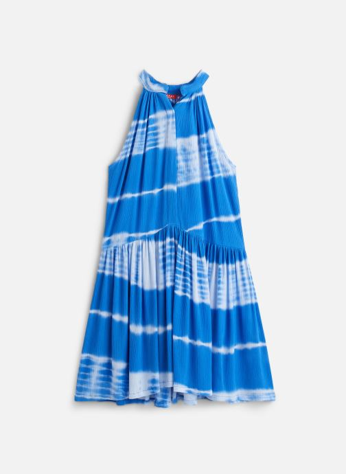 Vêtements Bakker Made With Love Dress Bertille Short Bleu vue détail/paire
