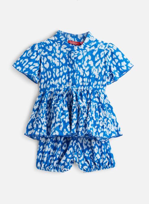 Vêtements Bakker Made With Love Dress Julia Bleu vue détail/paire