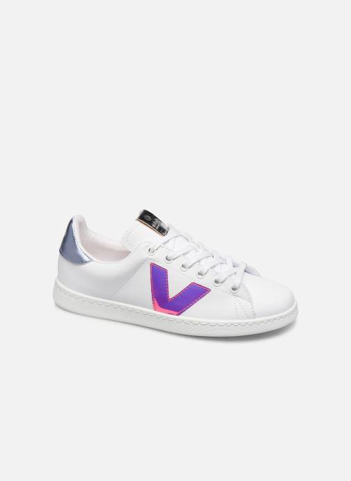 Sneaker Victoria TENIS DETALLE VINILO weiß detaillierte ansicht/modell