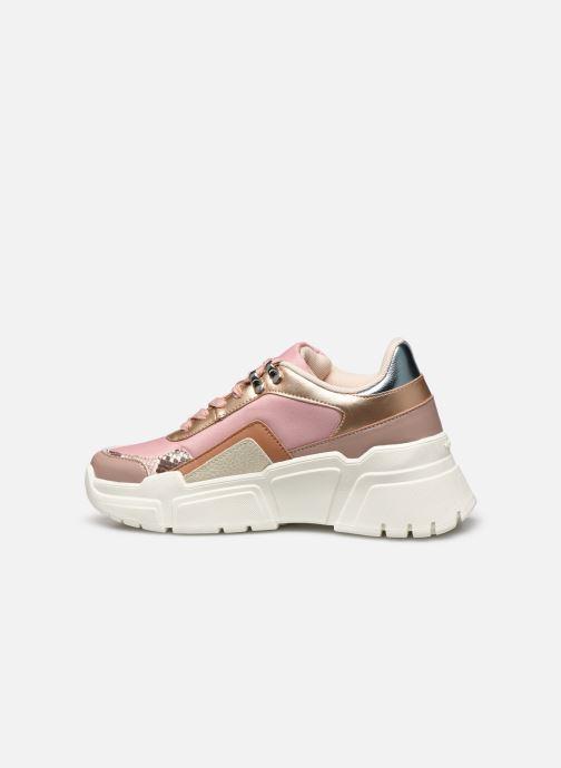 Sneakers Victoria TOTEM MONOCROMO DETAL Rosa immagine frontale