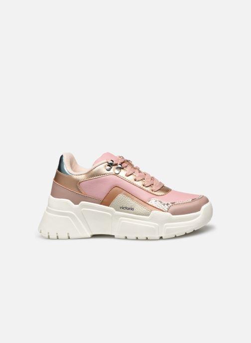 Sneakers Victoria TOTEM MONOCROMO DETAL Roze achterkant