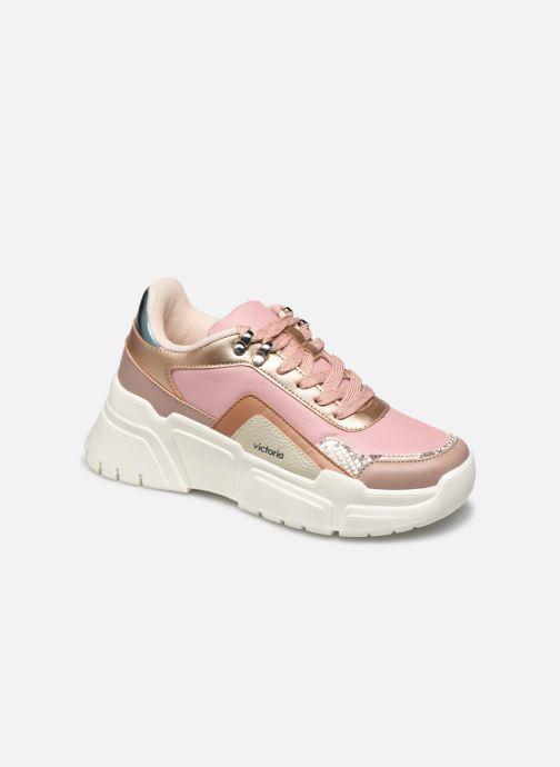 Sneakers Victoria TOTEM MONOCROMO DETAL Rosa vedi dettaglio/paio