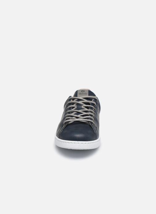 Baskets Victoria TENIS PU Bleu vue portées chaussures